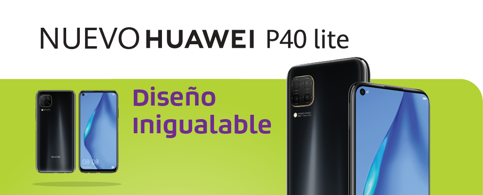 Huawei P40 lite diseño inigualable