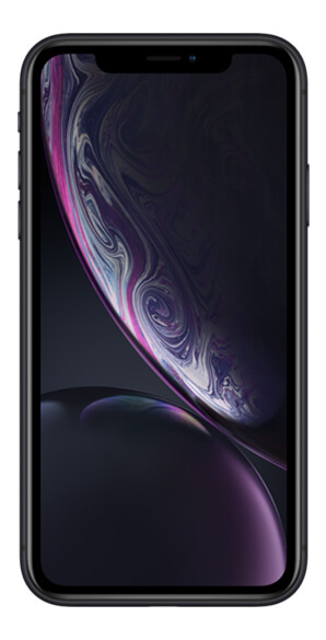 iPhone XR vista frontal