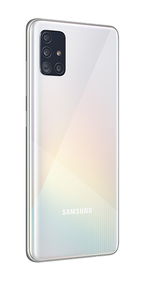 Samsung Galaxy A51 color prisma blanco